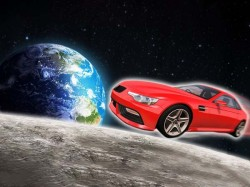 Space X Falcon Heavy Rocket Will Carry Tesla Car The Space