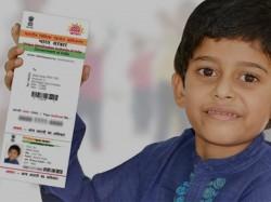 Baal Aadhaar Children Below 5 Years Declares Uidai