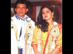 Controversial Love Affair Between Sridevi Mithun Chakraborty