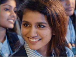 Ms Dhoni Is Her Favourite Cricketer Reveals Priya Prakash Varrier