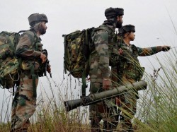 Army Officer Three Other Soldier Killed Pakistan Firing Alon Loc Rajouri Sector