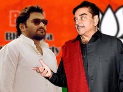 Bjp Mp Shatrughna Sinha Attacks Babul Supriyo After Defeat Rajasthan