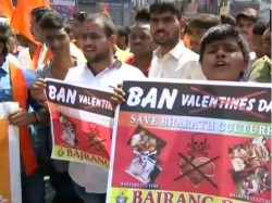 V Day Moral Police Harass Couples Targeted Bajrang Dal