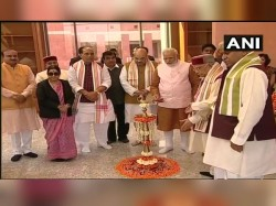 Pm Modi Inaugurates New Bjp Hq Delhi Modi Gives Messege Rastra Bhakti