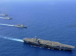 China Deploys 11 Warships Indian Ocean Amidst Maldives Crisis