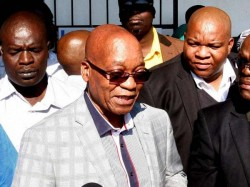 South African President Jacob Zuma Quits Charge