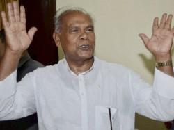 Jitan Ram Manjhi Quits Nda Bihar