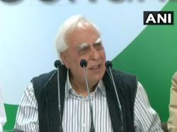 Congress Leader Kapil Sibal Attacks Modi Govt On Nirav Modi Case