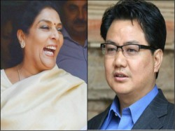 Kiren Rijiju Shares Surpanakha Video On Renuka Chowdhury