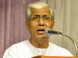 Tripura Cm Manik Sarkar Critises Bjp Ipft His Election Campa