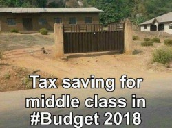 Twitter Memes On Middle Class After Fm Arun Jaitley S Union Budget