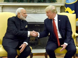 Trump Calls Modi Discuss Afghanistan Myanmar Maldives North Korea Issue White House