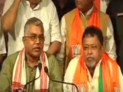 Dilip Ghosh Mukul Roy Challenges Mamata Banerjee Minority Development