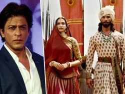 Shah Rukh Khan Opens Up About Padmavat Row The First Time