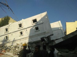 People Feared Trapped After Building Collapses Bengaluru