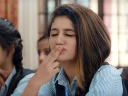 Priya Prakash Reveales How This Wink Scene Has Been Shot Her In The Film