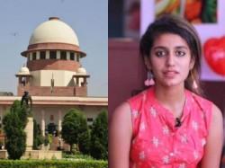 Sc Stays Proceedings Against Wink Sensation Priya Varrier