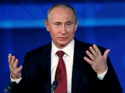 Vladimir Putin Relies On Half Naked Models Provocative Ads To Get Russians To Vote For Him