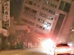 A Magnitude 6 4 Earthquake Struck Near The Coastal City Hualien Taiwan