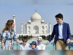 Canadian Pm Justin Trudeau S Taj Mahal Visit With His Family