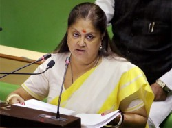 Rajasthan Unhappy With Raje Look Replacement Bjp Wing Writes To Amit Shah