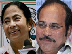 Adhir Chowdhury Stands Beside Mamata Banerjee Question Metro Project Stopped