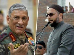 It Is Not The Work The Army Chief Speak On The Rise A Political Party Says Asaduddin Owaisi