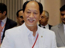 Neiphiu Rio Former Cm Has Already Won Unopposed Two Weeks Before Nagaland Elections