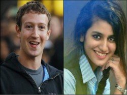 Priya Prakash Varrier Beat Facebook Founder Mark Zuckerberg