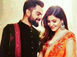 Virat Kissing Anushka Photo Goes Viral Social Media