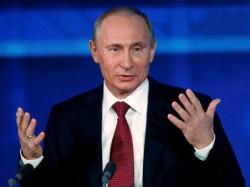 Russian President Vladimir Putin Wins Landslide Re Election Victory On Sunday