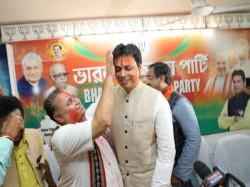Biplab Deb Sworn As Cm Tripura Today Pm Modi Will Be The Chief Guest