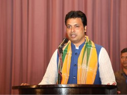 Who Is Biplab Kumar Dev Bjp S State President Probable Tripura Chief Minister