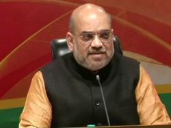 Amit Shah S Slams Left Front S Allegation Money Power Tripura Election