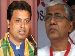 Future Chief Minister Tripura Biplab Dev Comes The House Manik Sarkar