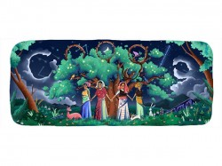 Google Doodle Celebrates 45th Anniversary Chipko Movement