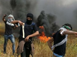 Palestinians Killed Many Wounded Clashes With Israeli Troops Gaza Border