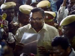 Cbi Seeks 14 Days Custody Karti Chidambaram On Inx Media Case
