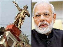 Narendra Modi Disapproves Incidents Vandalism Statues Certain Parts Of The Country
