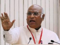 Mallikarjun Kharge Declines Govt S Offer Attend Lokpal Meeting