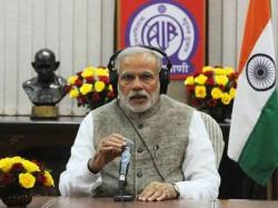 Prime Minister Narendra Modi Is Addressing The Nation Via His Mann Ki Baat Radio Address