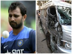 Mohammad Shami Got Injured Road Accident