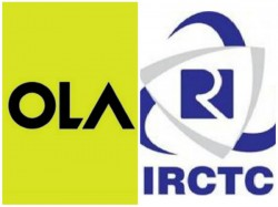 Book Ola Using Ircts Website