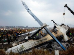 How The Plane Us Bangla Airline Has Crashed Kathmandu Airport