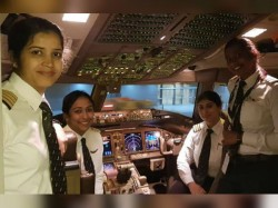 India Has Highest Number Women Pilot The World