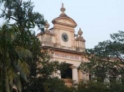 Shamaprasad Mukherjee S Plate Is Distorted At The Presidency University At Kolkata