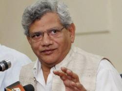 Cpm General Secretary Sitaram Yechury Quits Bjp S Character