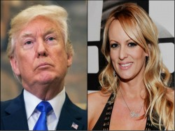 Threatened Keep Quiet Says Stormy Daniels On Trump Affair