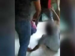 Shocking Video Attack On Differently Abled Children Yogi Adityanath S Uttar Pradesh