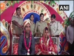 Uttar Pradesh Couple Ties The Knot At Police Station